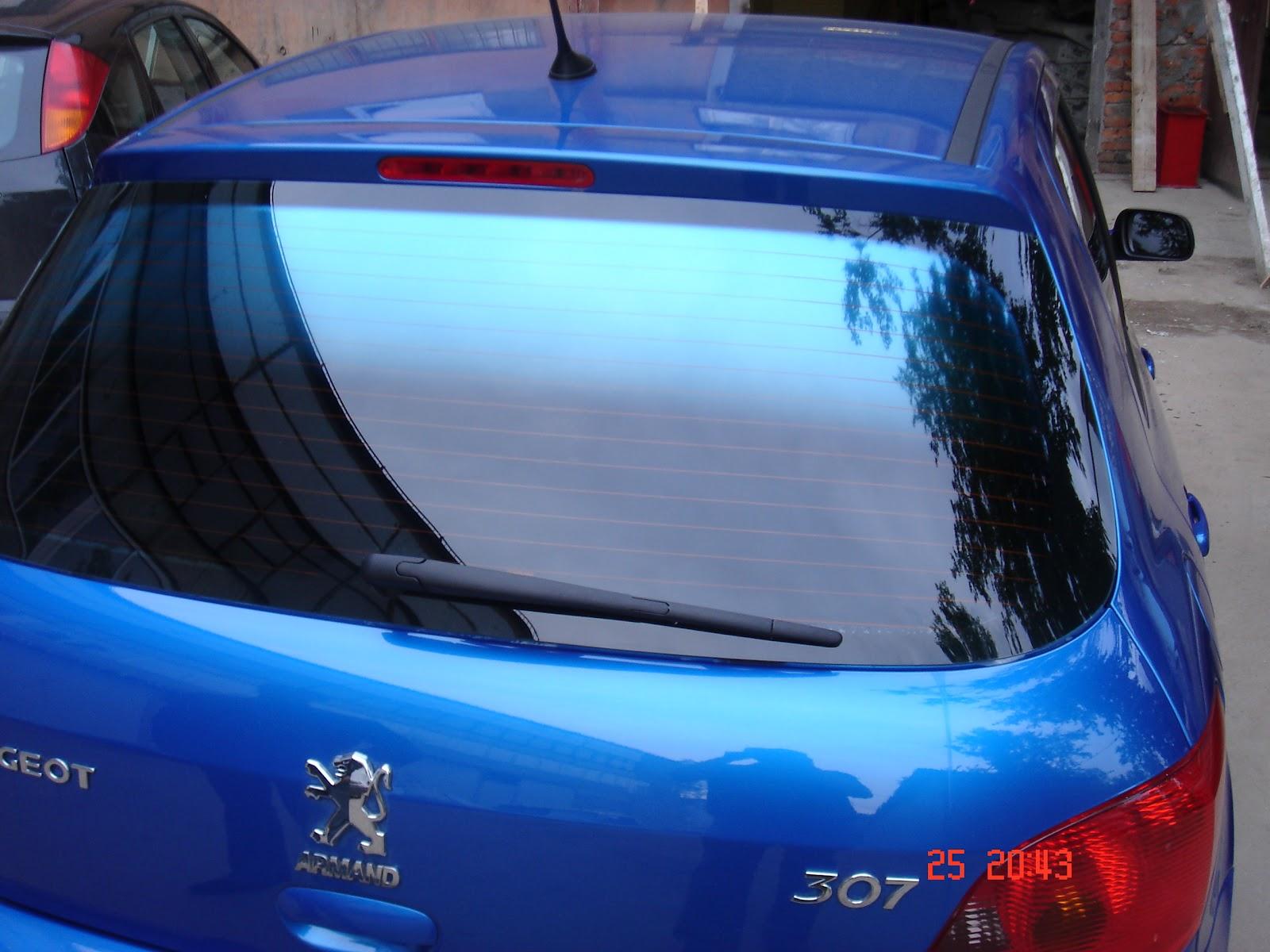 Цветная тонировка стекол автомобиля