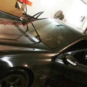 Лобовое стекло на Mercedes C180 | Тонировка в Саратове